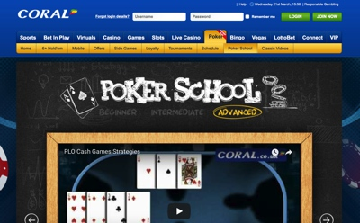 Coral Poker Screenshot