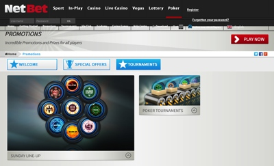 NetBet Poker Screenshot