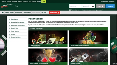 PaddyPower Poker Screenshot