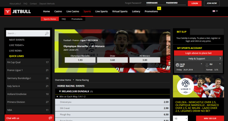 Jetbull Screenshot