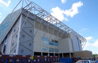 Elland Road Football Stadium in Leeds