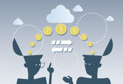 Money Flow Between Two People
