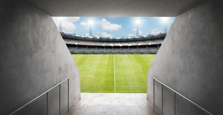 Football Tunnel