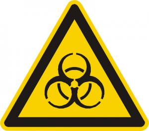 Bio Hazard Warning Triangle