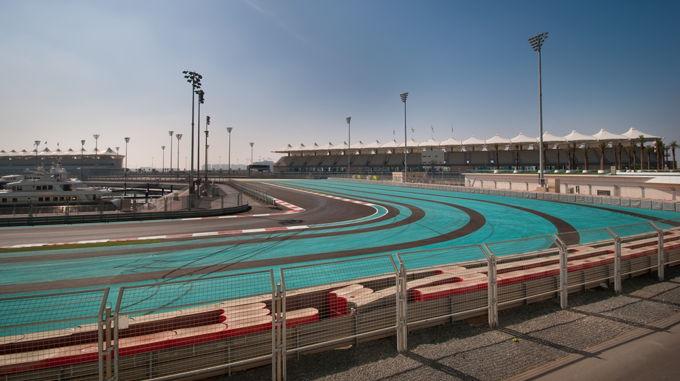 Abu Dhabi F1 Race Track