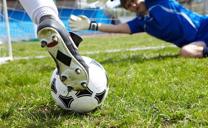 Football Goal Attempt