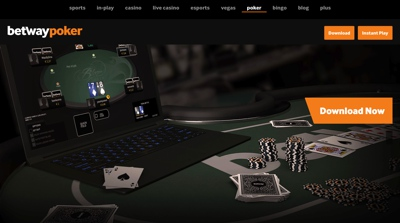 Betway Poker Screenshot