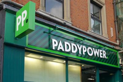 Paddy Power Shop Signage