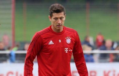Footballer Robert Lewandowski