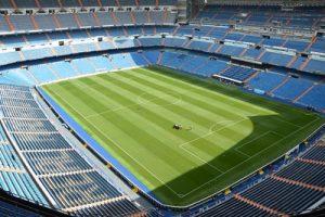 Real Madrid's Santiago Bernabeu Football Stadium