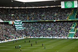 Glasgow Celtic Football Fans at Celtic Park