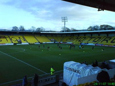 Livingston FC's Almondvale Stadium Pitch