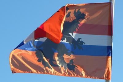 Netherlands Orange Flag