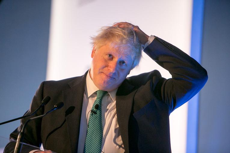 MP Boris Johnson
