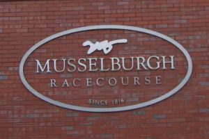 Musselburgh Racecorse Entrance Signage