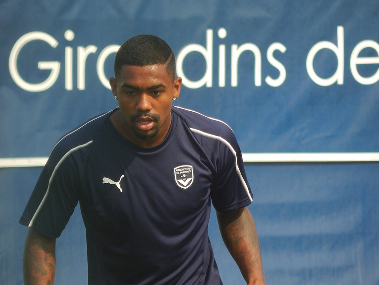 Malcom Training at Bordeaux