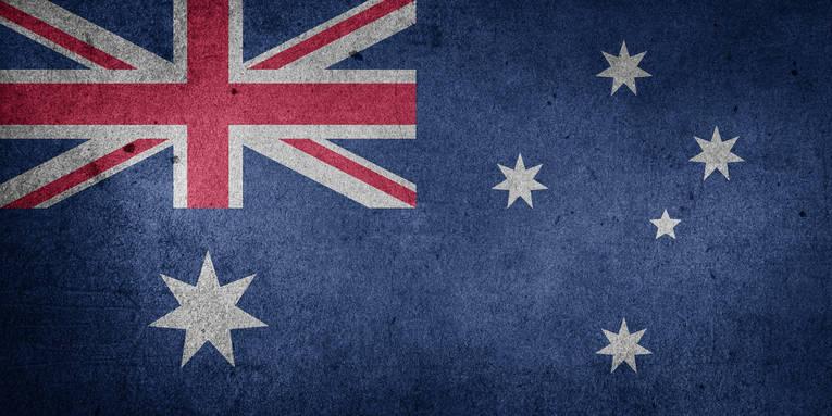Faded Australian Flag
