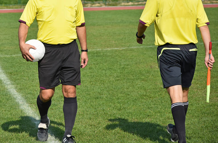 Referee and Linesman