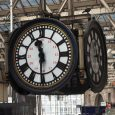Waterloo Train Station Clock