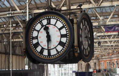 Waterloo Train Station Clock