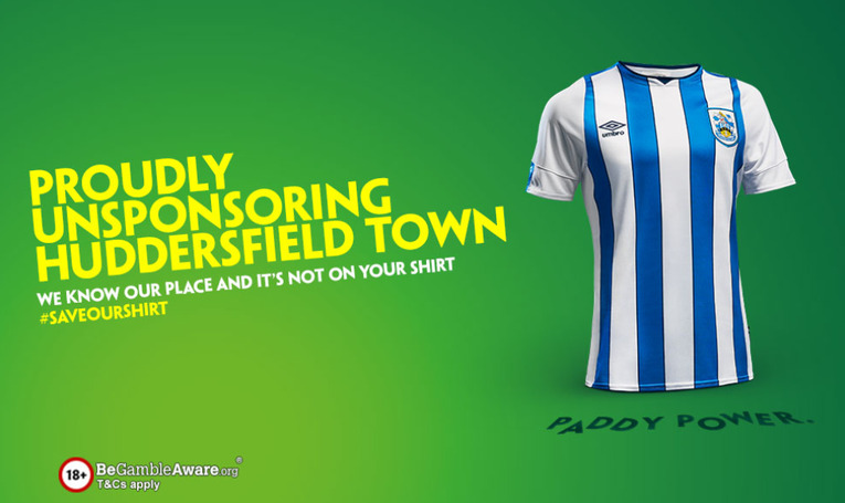 Paddy Power Huddersfield Town Shirt