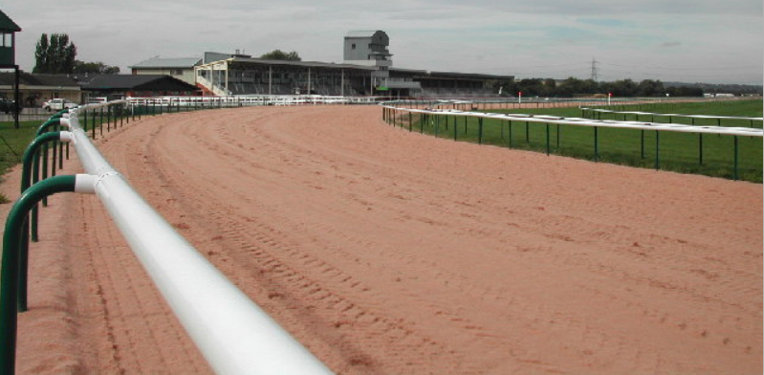 Southwell Racecourse Empty Course
