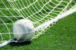 Football in Bottom of Net