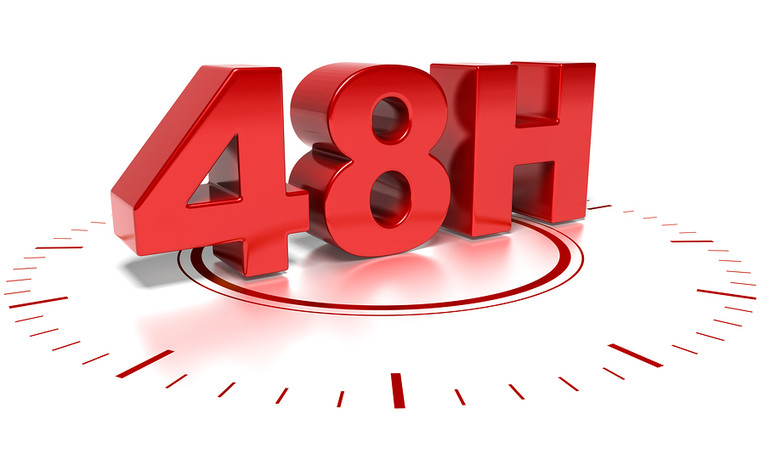 48 Hours Graphic