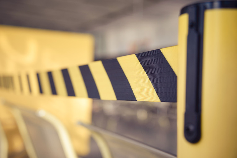 Barrier Tape Restricting Access