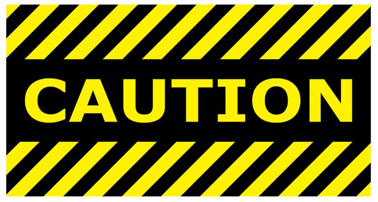 Caution Warning Sign