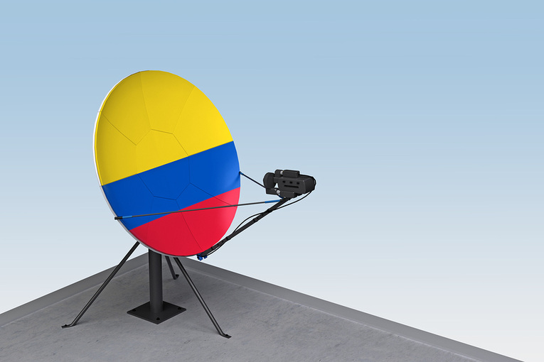 Colombia Satellite Dish