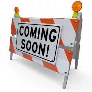 Coming Soon Construction Sign