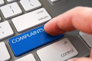 Complaints Button on Keyboard Being Pushed