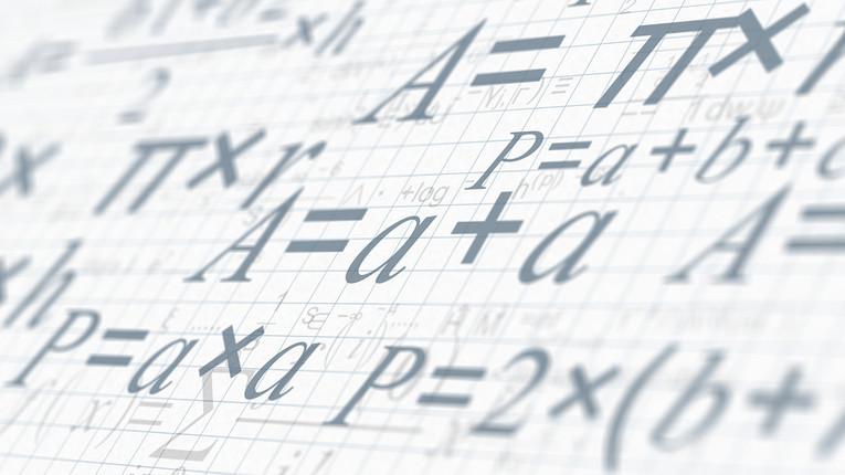 Formula Written on Squared Paper