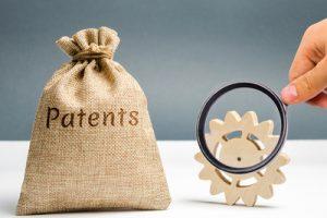 Patents Money Bag