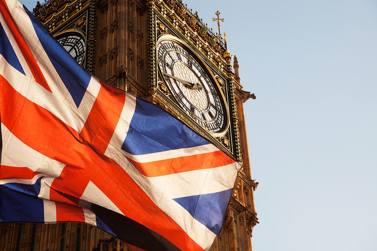 Union Jack Flag and Big Ben