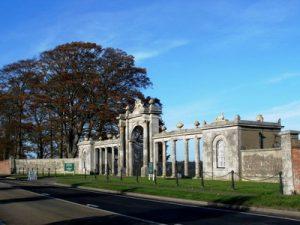 Towcester Racecourse Gates