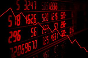Falling Red Share Prices