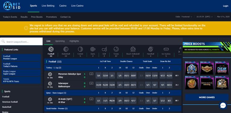 BetSid Screenshot