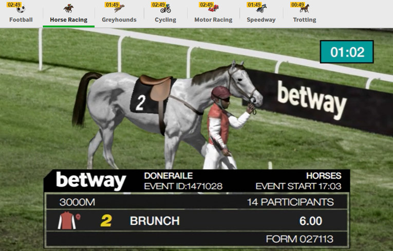 Betway Virtual Sport