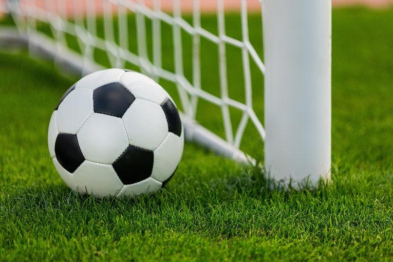 Football and Goalpost