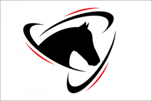 Horse Logo with Border