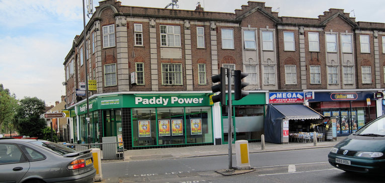 Paddy Power and William Hill Shops