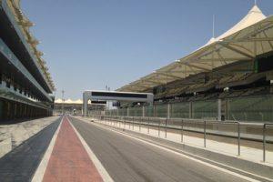Yas Marina Circuit Empty Pit Lane