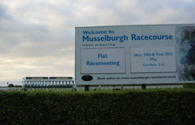 Musselburgh Racecourse Next Fixture Sign