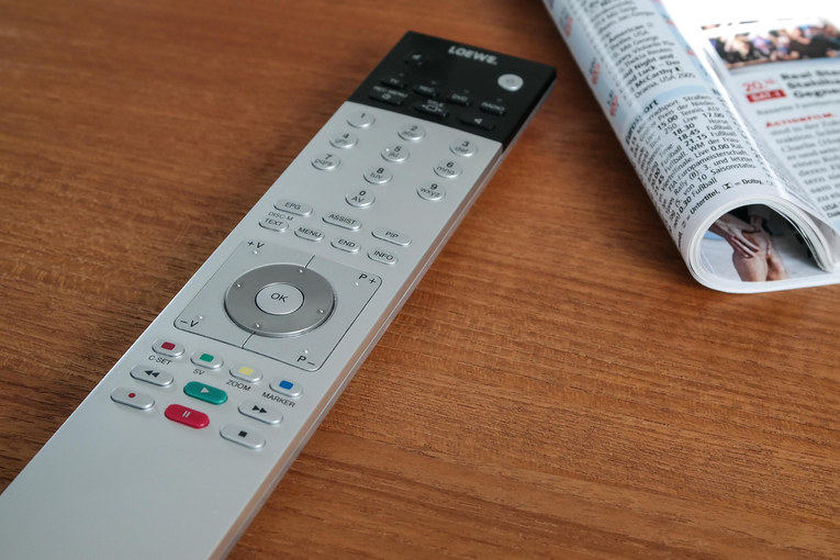 TV Remote and Schedule