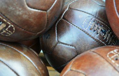 Vintage Leather Footballs