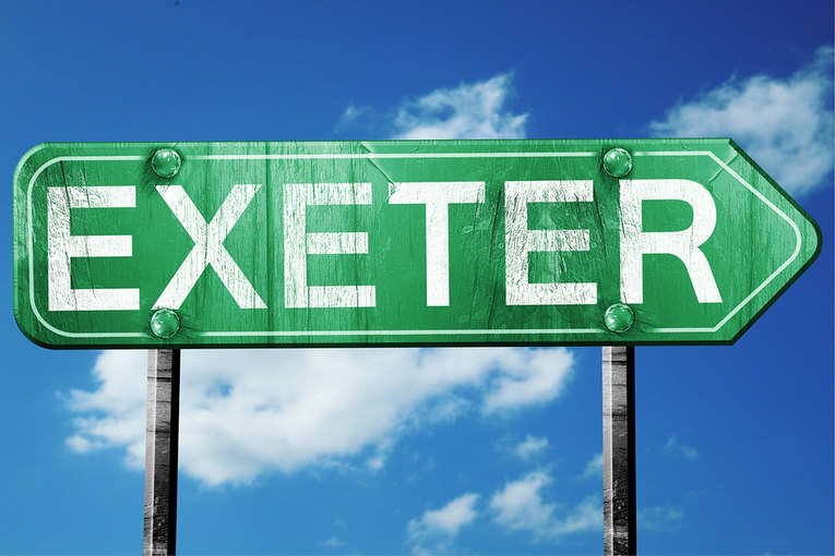 Exeter Sign