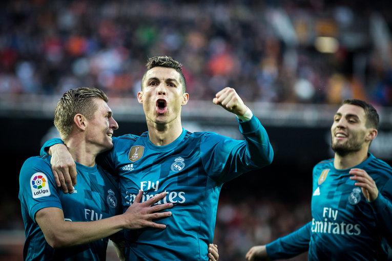 Ronaldo during Spanish La Liga