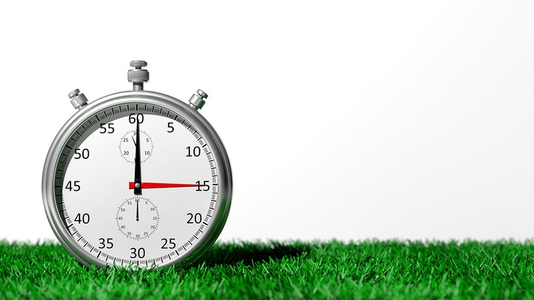 Stopwatch on Grass